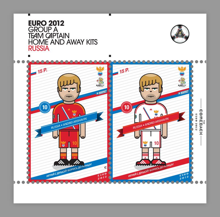 Russia_euro 2012 characters by @comebackstudio