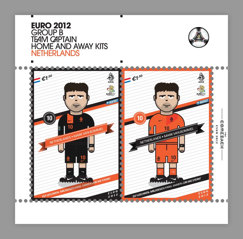 Netherlands_euro 2012 characters by @comebackstudio