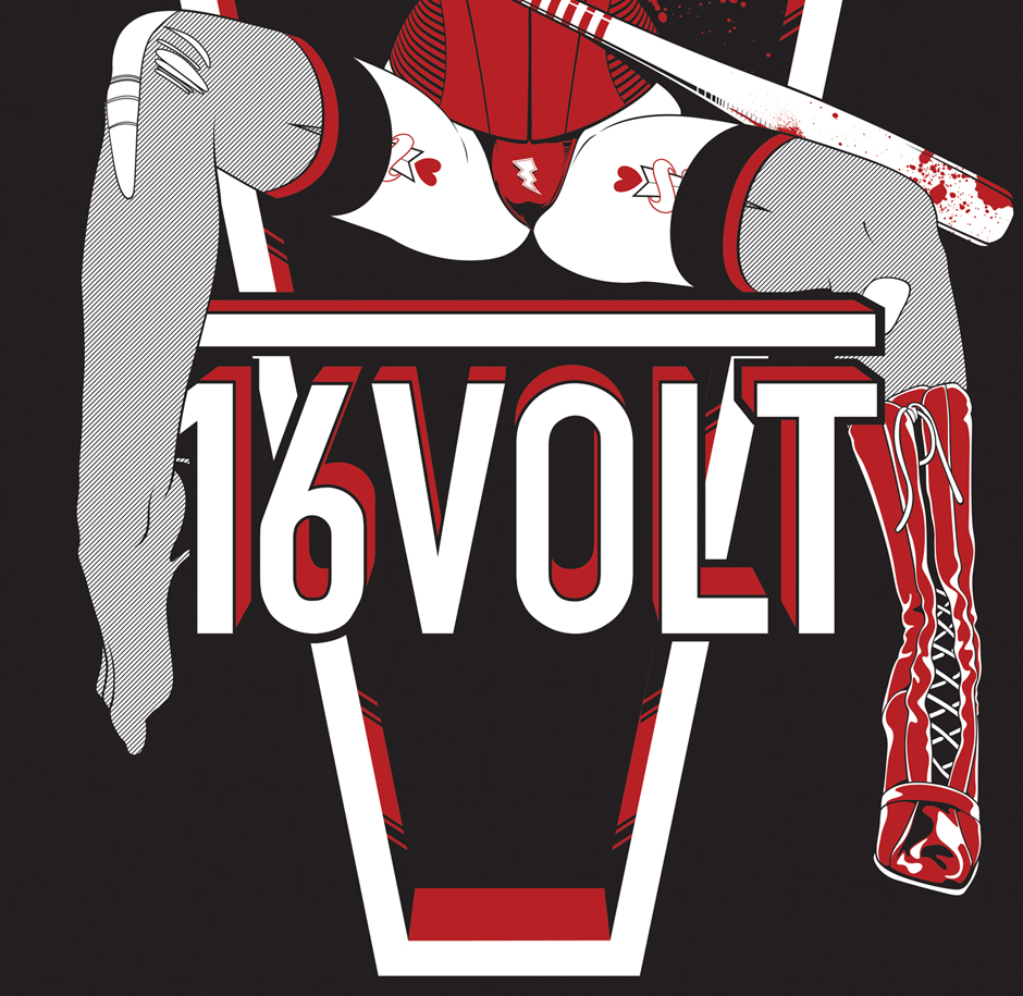 16 Volt Tee by The Comeback