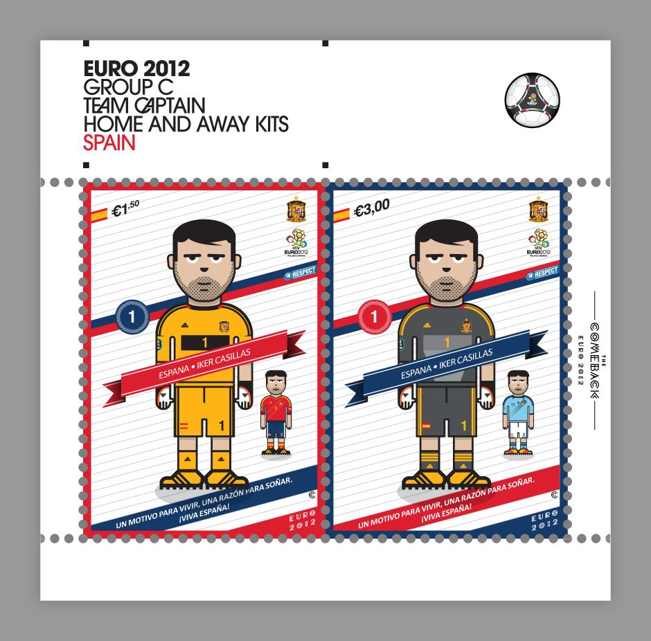 Spain_euro 2012 characters by @comebackstudio