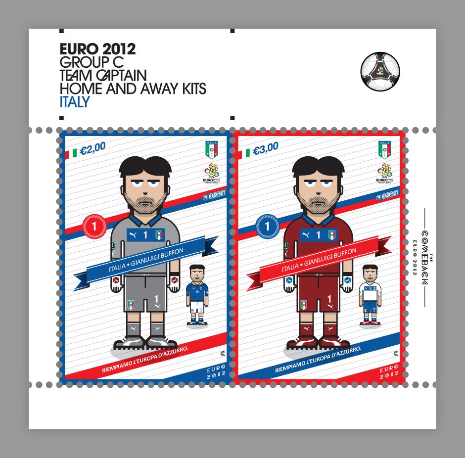 Italy_euro 2012 characters by @comebackstudio