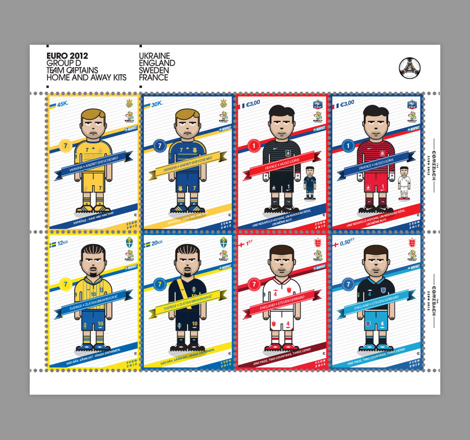 Group D_euro 2012 characters by @comebackstudio