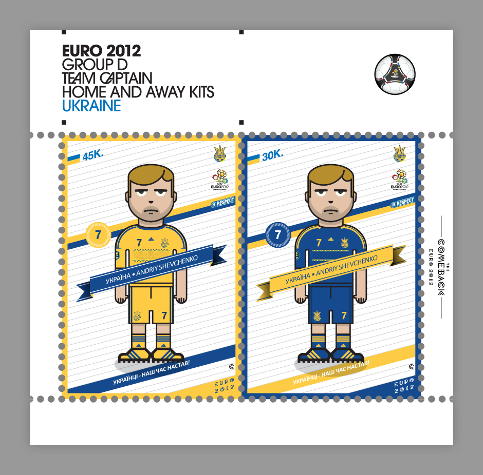 Ukraine_euro 2012 characters by @comebackstudio