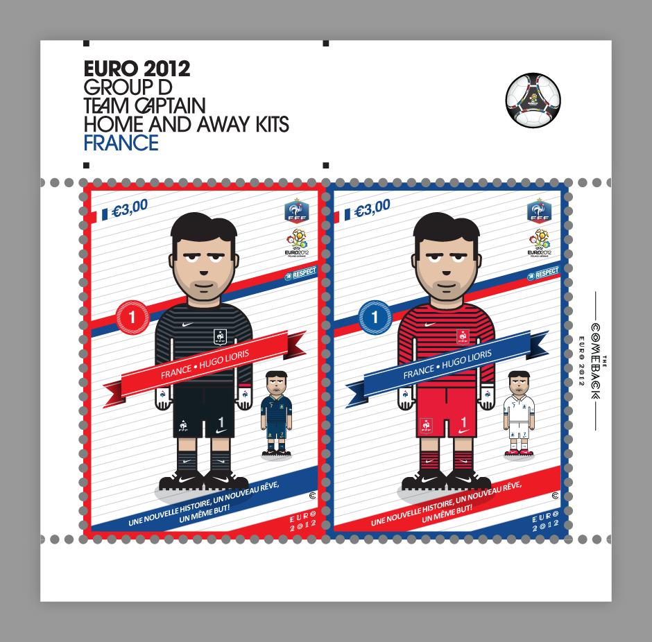 France_euro 2012 characters by @comebackstudio