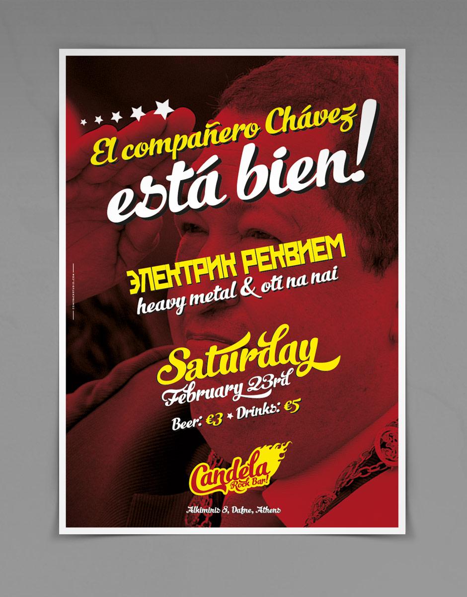 poster for candela by @comebacstudio
