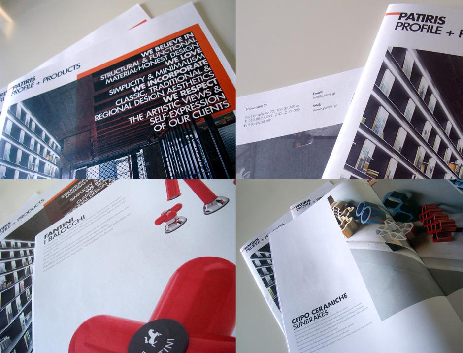 Brochure design by @comebackstudio for Patiris