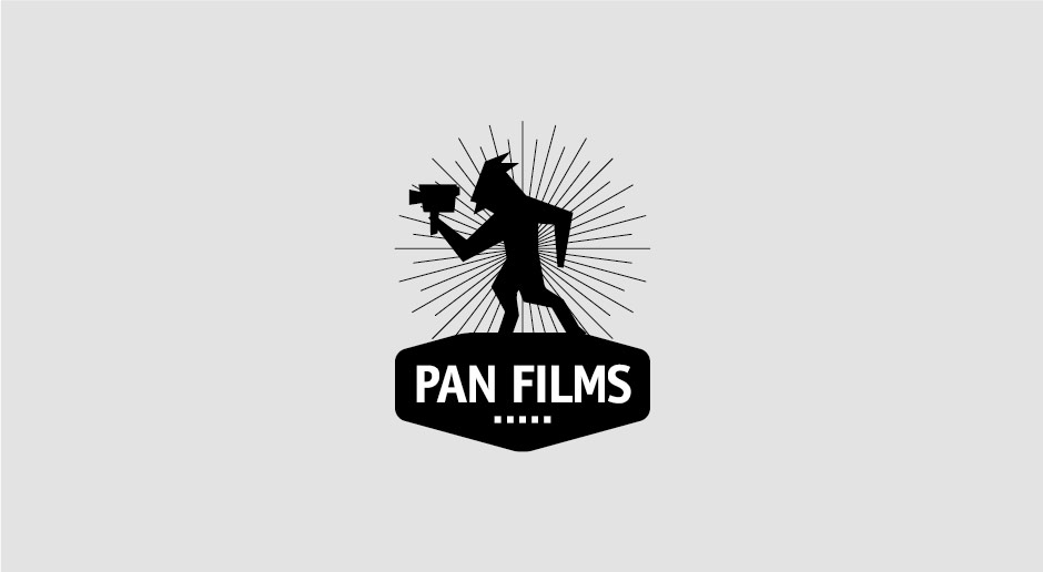 Pan films, logo and identity by @comebackstudio