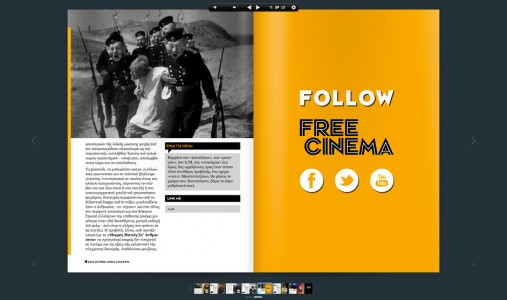 Free Cinema magazine by The Comeback