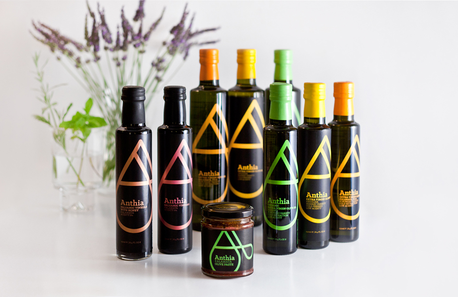 Anthia product family packaging