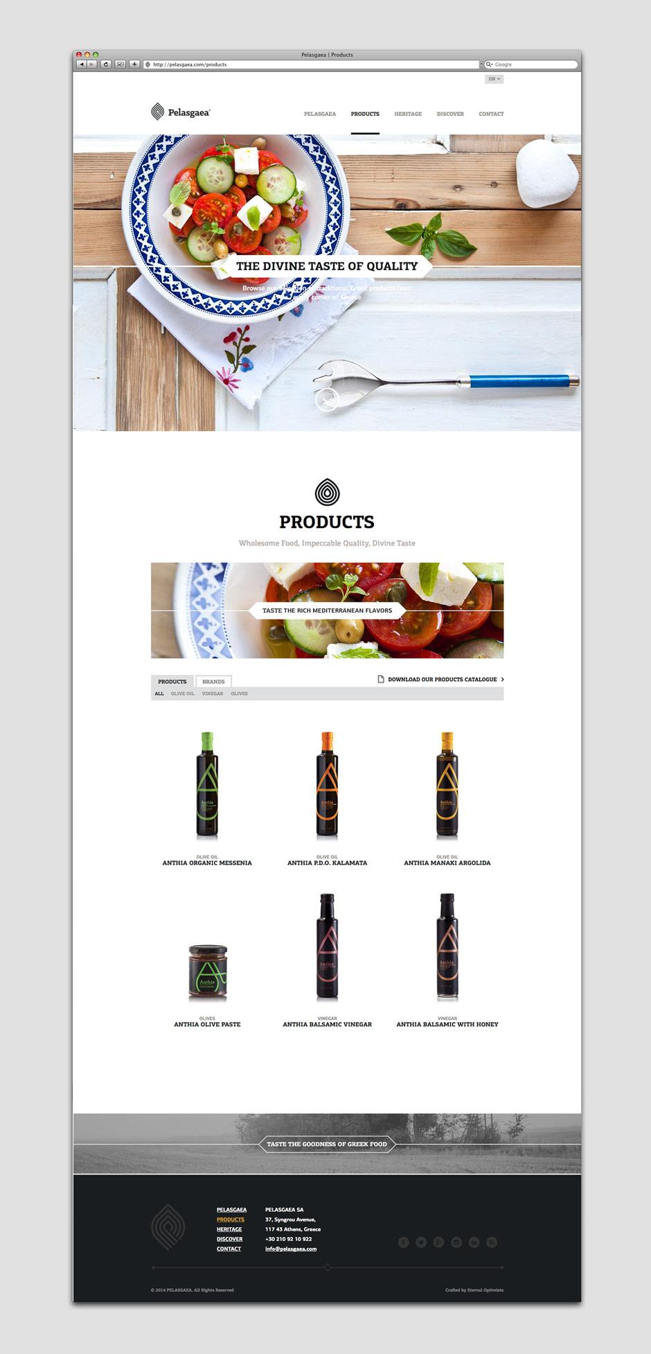 PELASGAEA web site