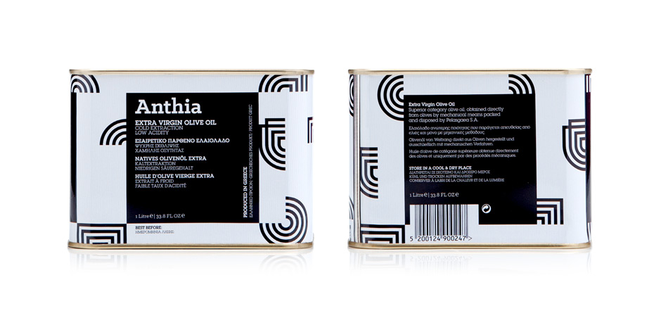 Anthia Extra Virgin Olive oil 1LT by the @comebackstudio
