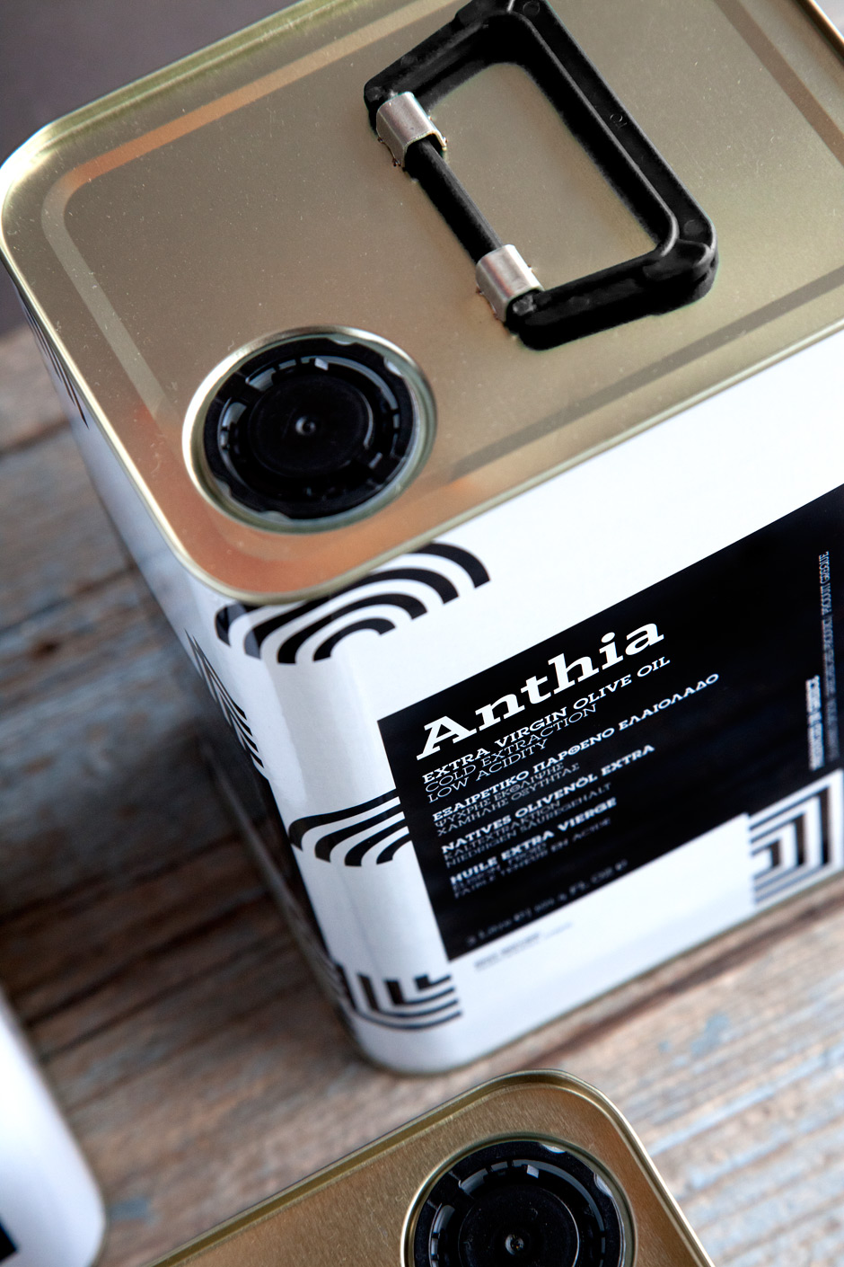 Anthia Extra Virgin Olive oil 3LT by the @comebackstudio