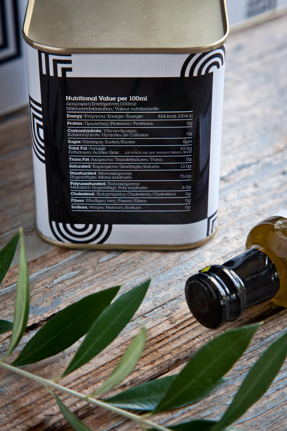 Anthia Extra Virgin Olive oil by the @comebackstudio