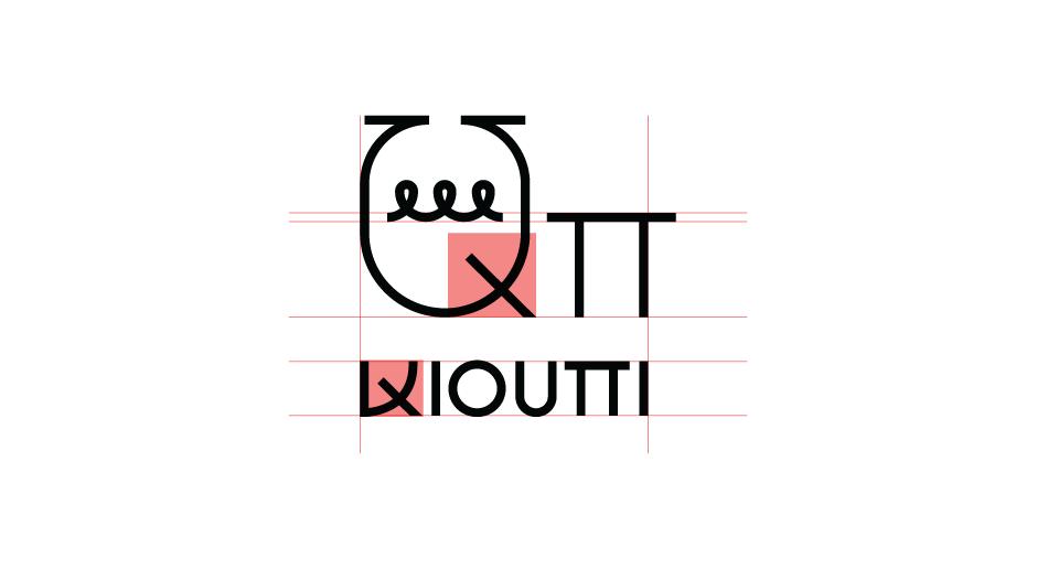 QPi restaurant logo detail concept by @comebackstudio