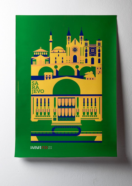 Sarajevo 100 Poster © Comeback Studio