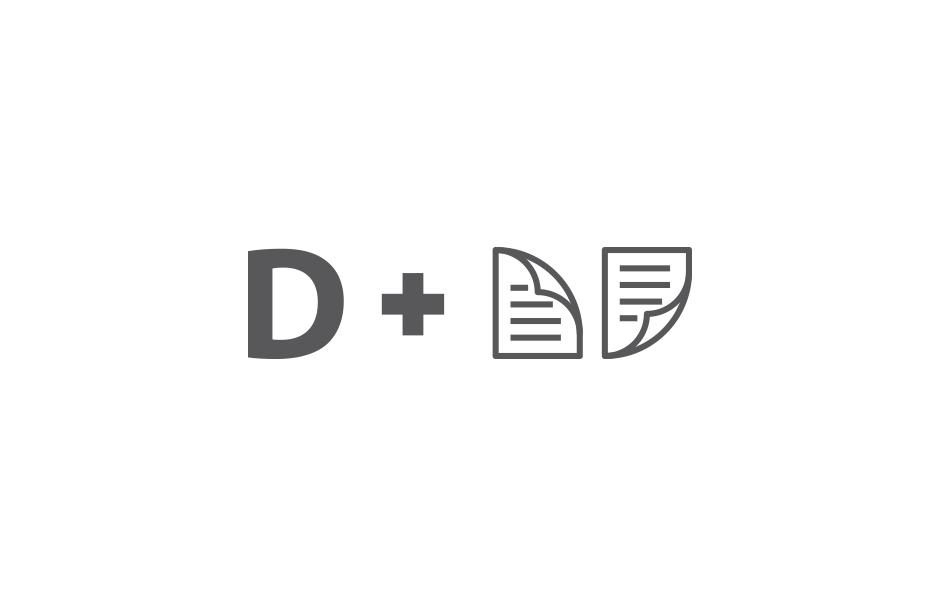 Logo design for digidok ©comebackstudio 2016
