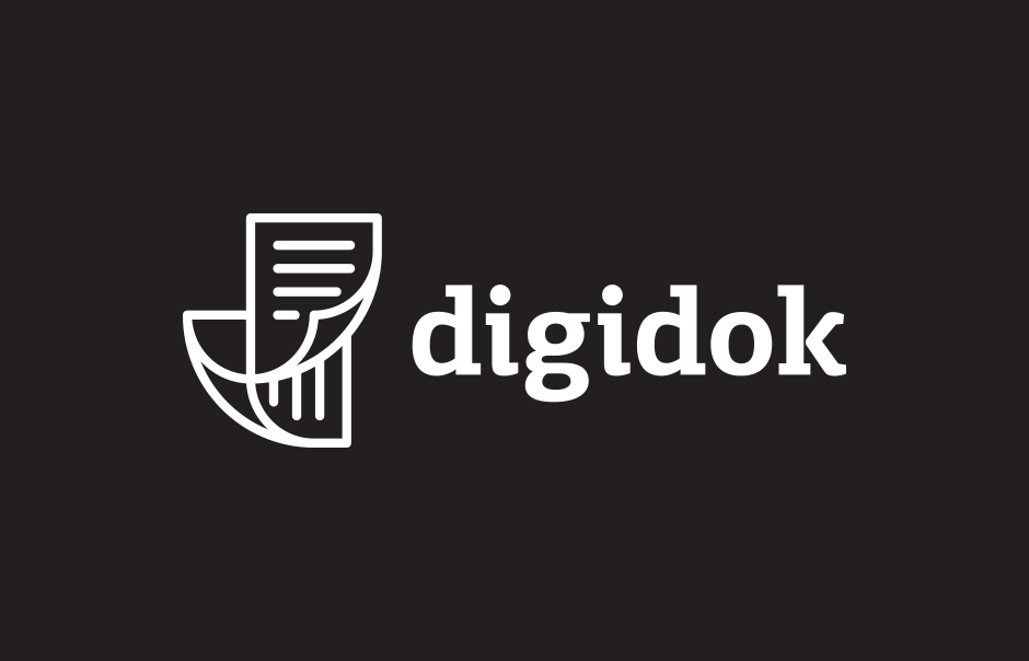 Logo design for digidok ©comebackstudio 2016