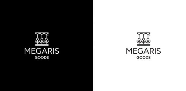 Megaris Goods branding, logo and identity design by @comebackstudio