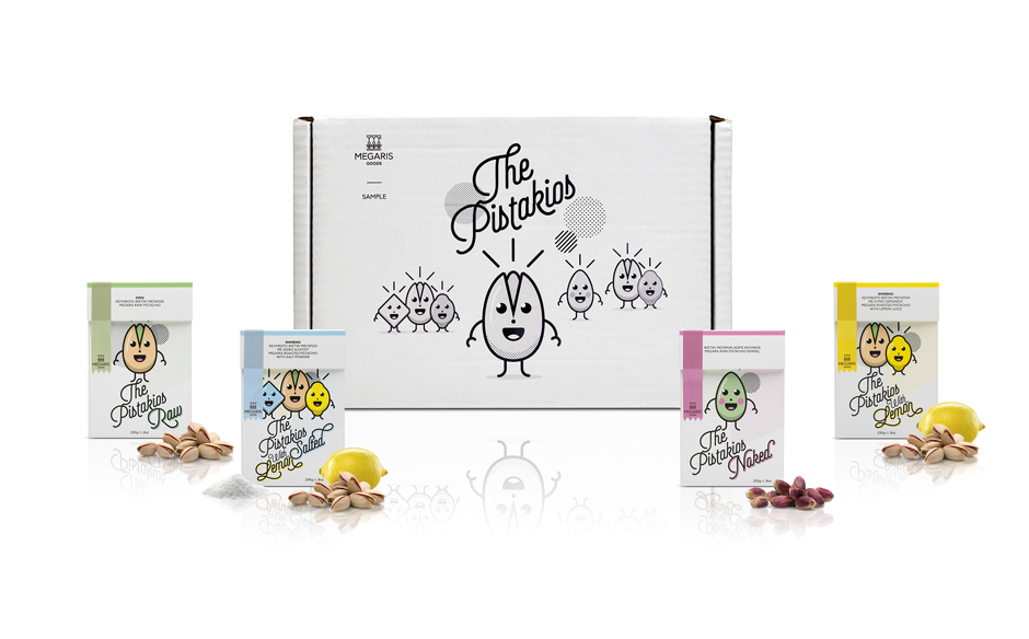 The Pistakios packaging by @comebackstudio