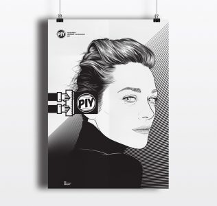 PIY Seminars posters by @comebackstudio